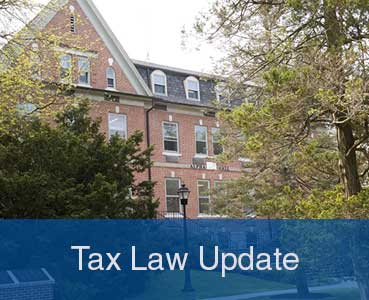 Tax Law Update
